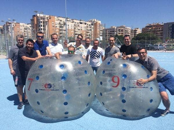 Bubble Soccer Malaga | temptation
