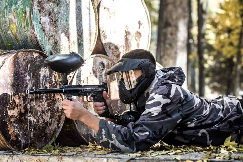 Despedidas Temptation - Paintball 2